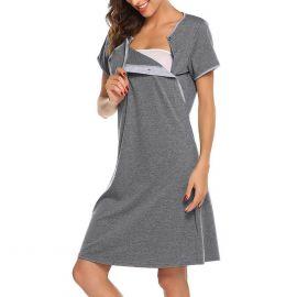 Comfy Pregnant Nursing Tops Long Sleeve Shirt